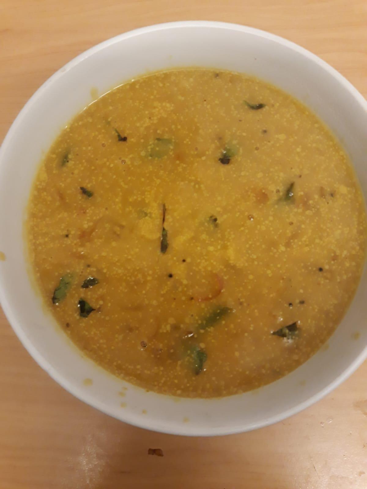 Quick besan curry | besan kurma