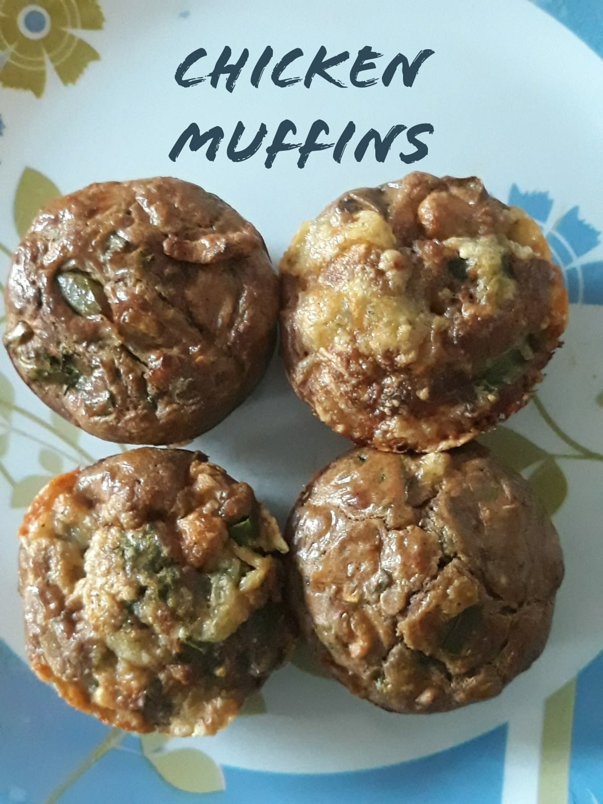 Chicken Muffins | Spicy Chicken Muffins