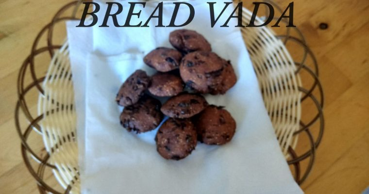 Bread Vada | How to make Bread Vada