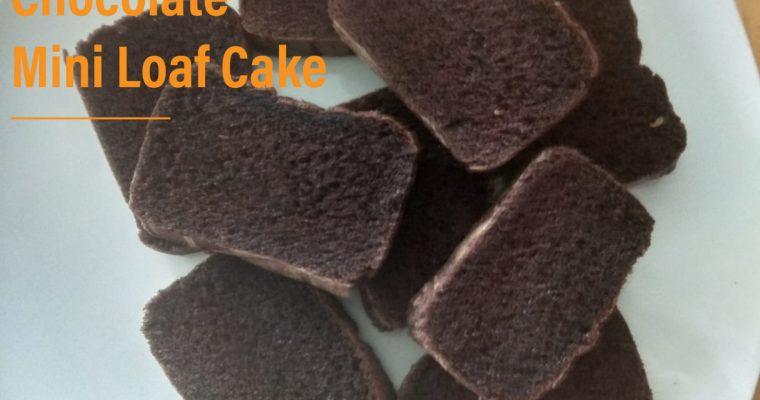 Chocolate Mini Loaf Cake