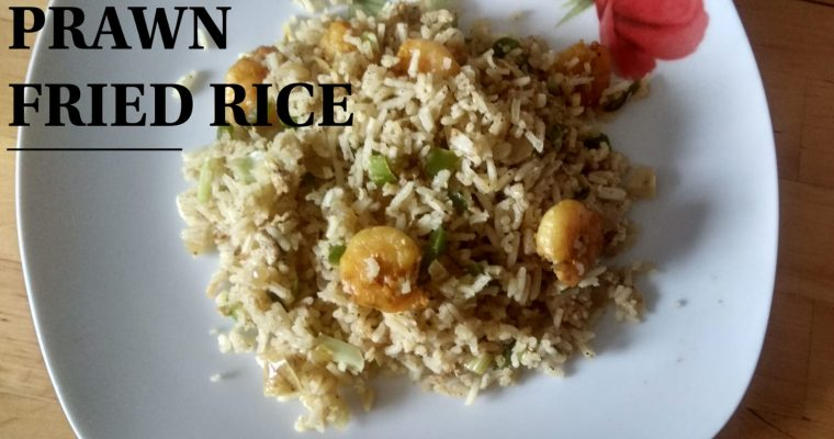 Prawn fried rice | Spicy Prawn fried rice