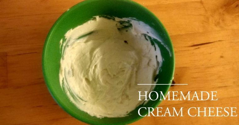 Cream Cheese Recipe | Homemade Cream Cheese Recipe