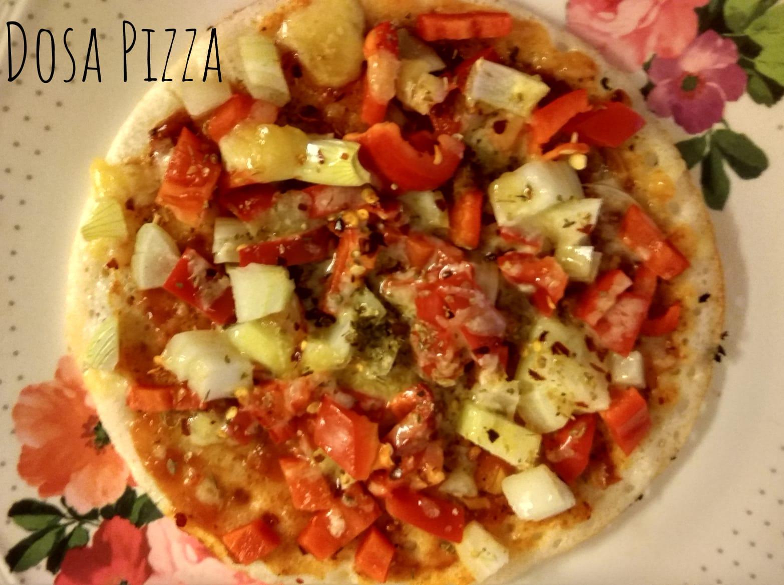 Dosa Pizza | Simple Pizza Dosa