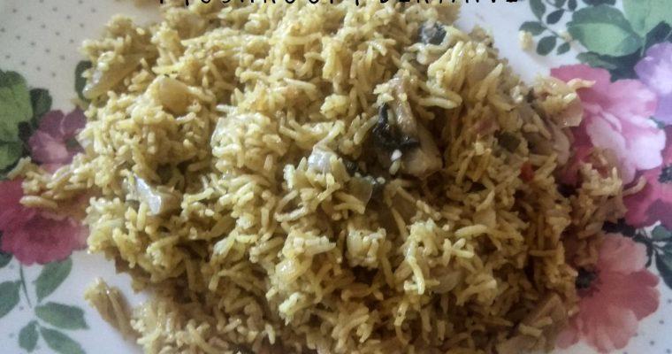 Mushroom Biryani | Kalan Biryani recipe