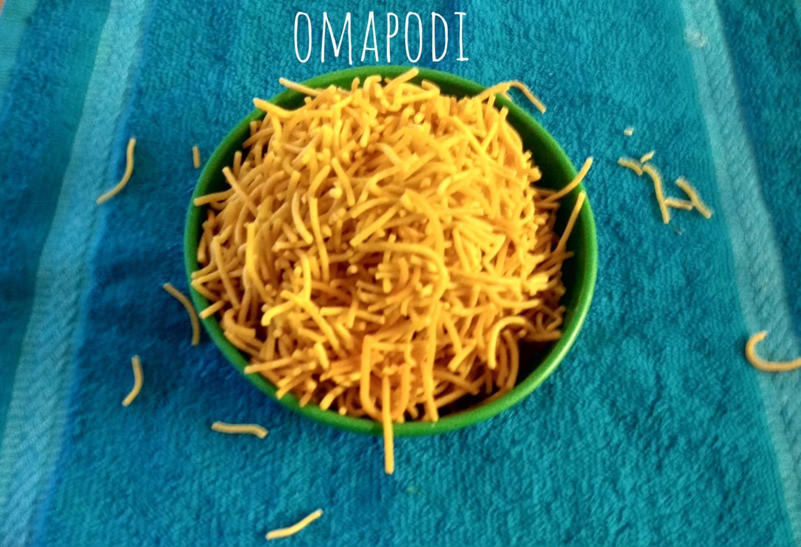 Omapodi | Sev Recipe