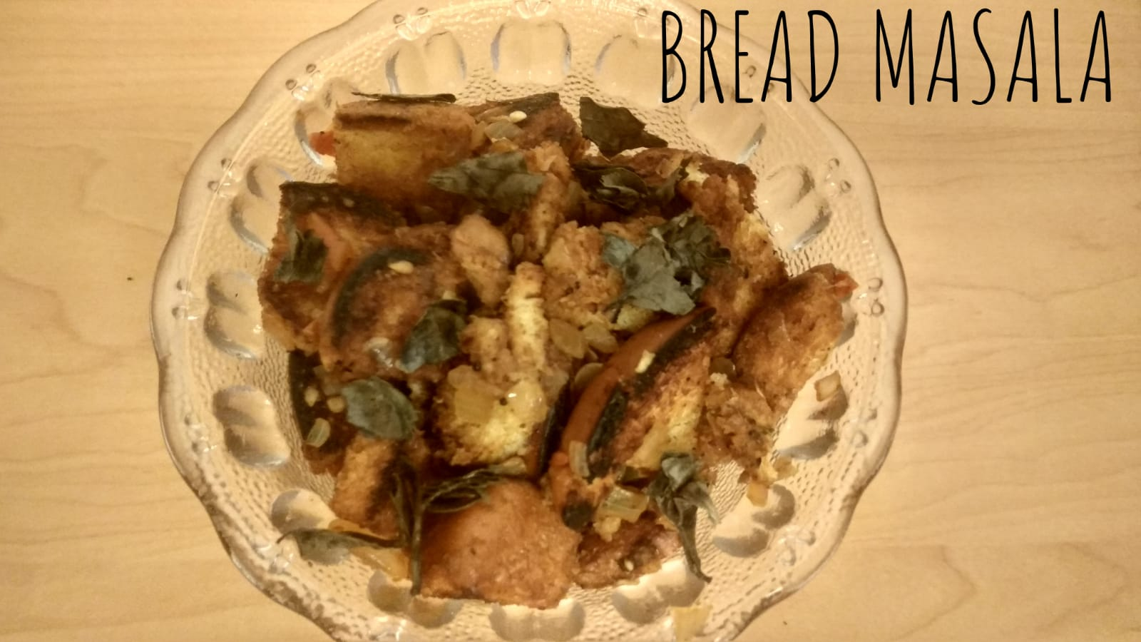 Bread Masala | Simple Bread Masala