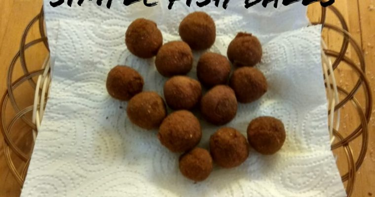 Simple Fish Balls recipe | Kids recipe