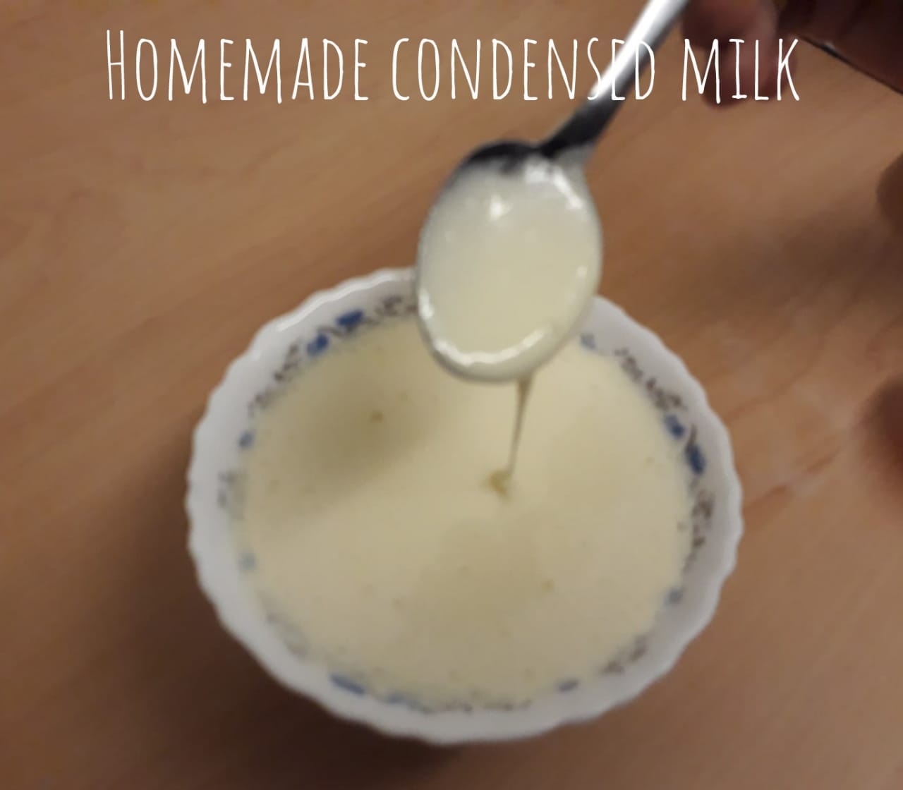 Homemade Condensed Milk Recipe