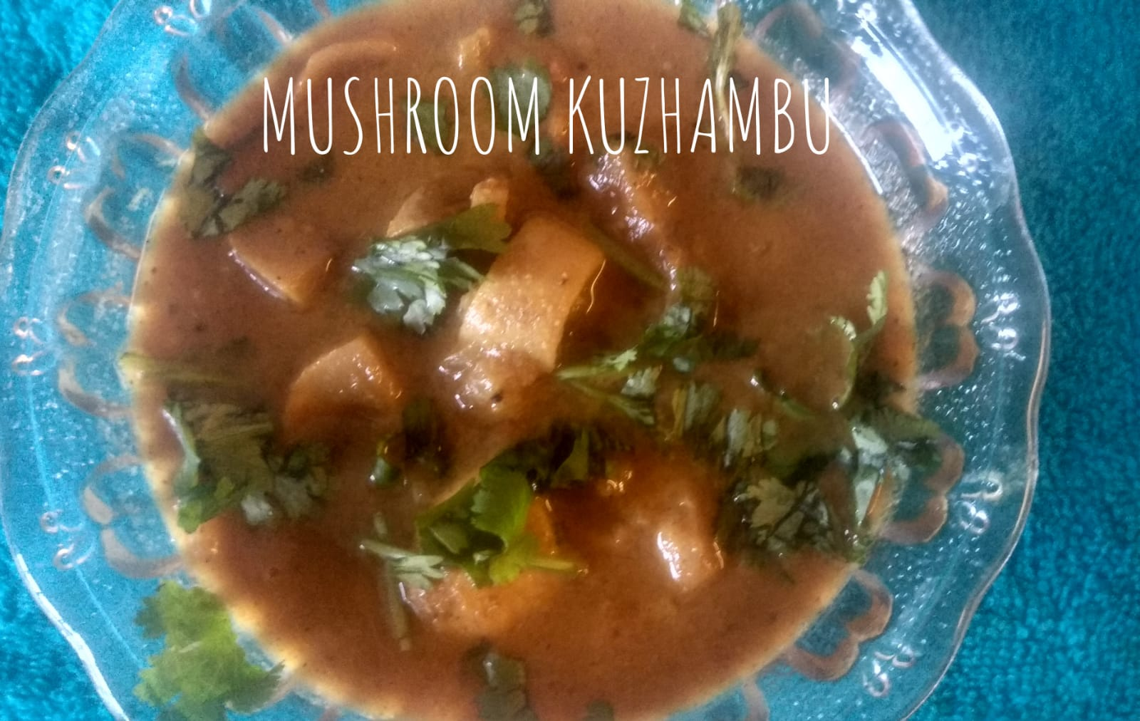 Mushroom Curry | Mushroom Kuzhambu