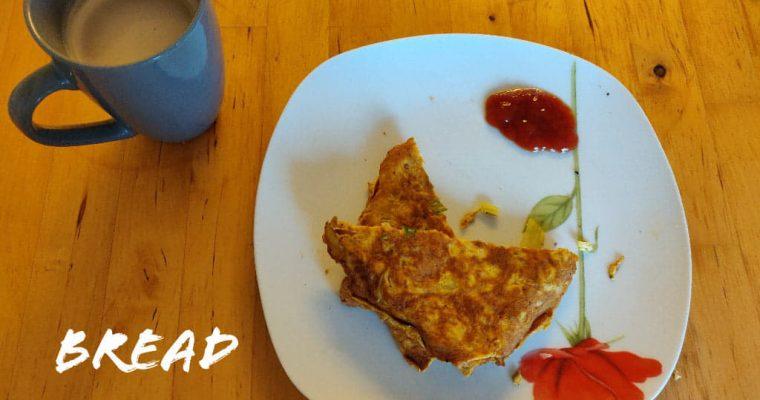 Bread Omelette Recipe | Street Style Bread Omelette