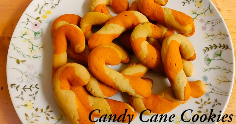 Candy Cane Cookies recipe | Christmas cookies recipe