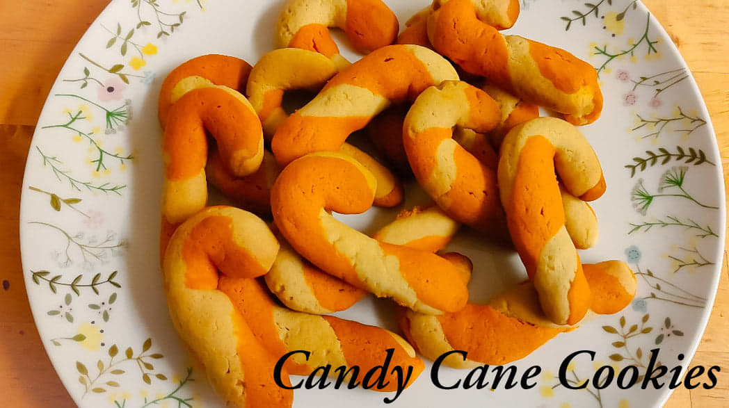 Candy Cane Cookies recipe   Christmas cookies recipe