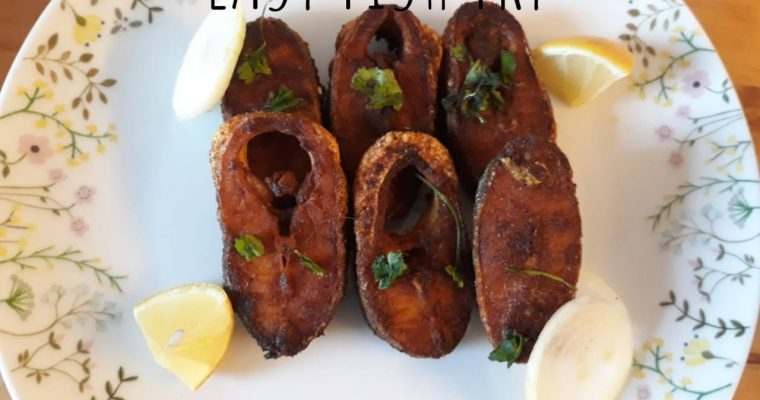 Easy fish fry recipe | How to make Fish Fry