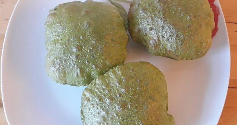 Palak Poori | Spinach Poori recipe