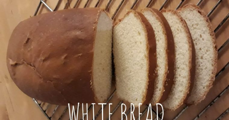 Homemade white bread recipe | White Bread Loaf recipe