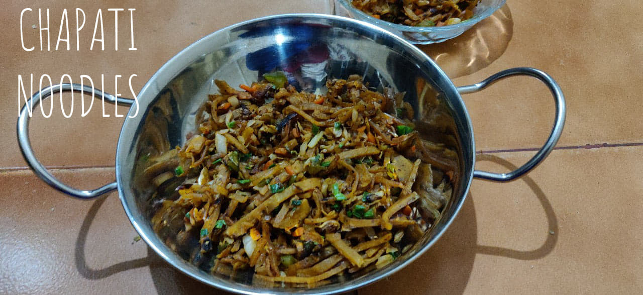 Chapati Noodles | Leftover dishes | Kids lunch box recipe