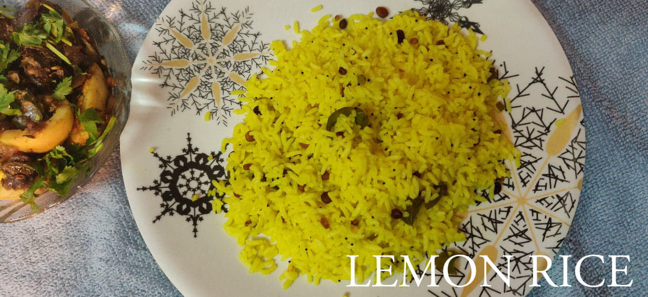 Lemon Rice Recipe | Variety Rice | Quick Lunch box and Travel food