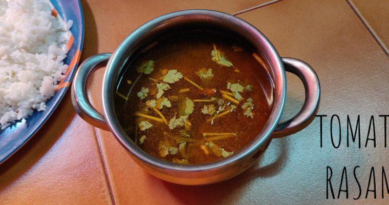Tomato Rasam | Thakali Rasam | Easy Tomato Rasam