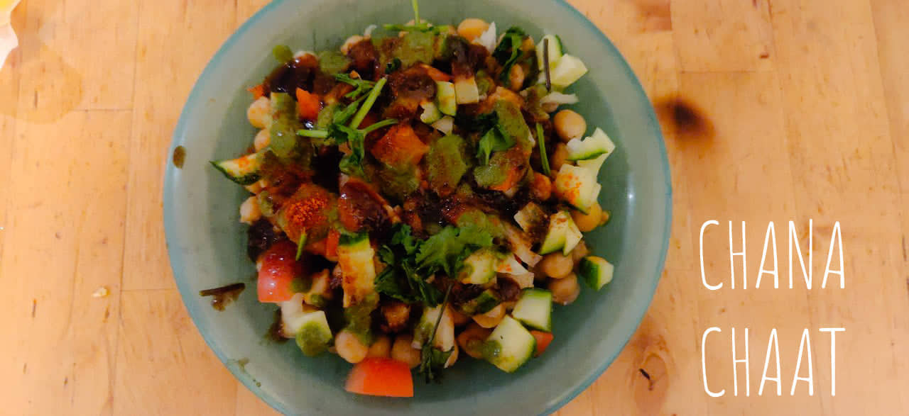 Chana Chaat | Chole Chaat