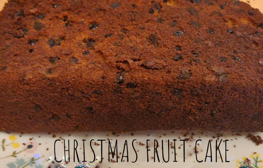 Christmas Fruit Cake without alcohol | Kerala Plum Cake recipe