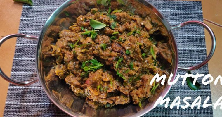 Mutton Masala | Mutton Gravy