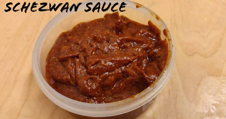Schezwan Sauce | How to make Schezwan Sauce in home