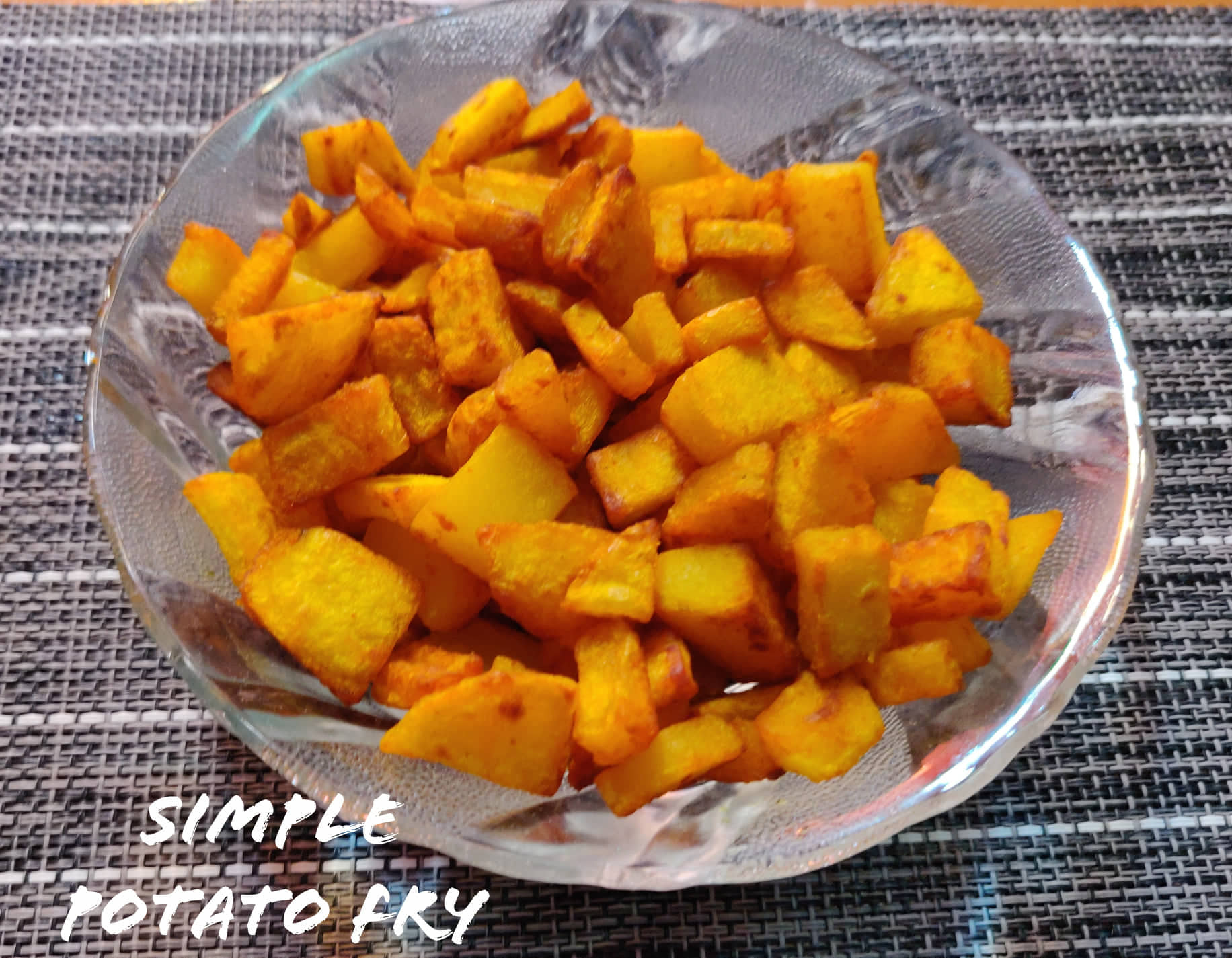 Potato fry | Simple Potato roast recipe | Aloo fry recipe