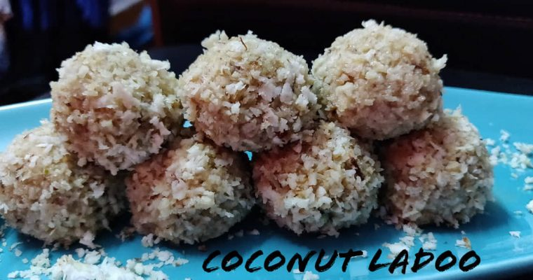 Coconut Ladoo Recipe | Instant Coconut Ladoo | Easy Coconut Ladoo using condensed milk recipe