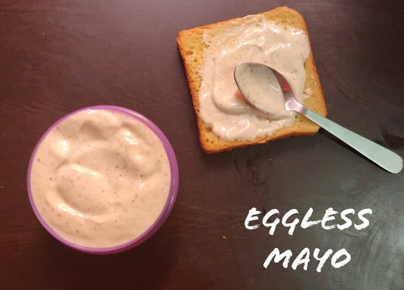 Eggless Mayonnaise | Eggless Mayo | Eggless Mayonnaise in 5 minutes