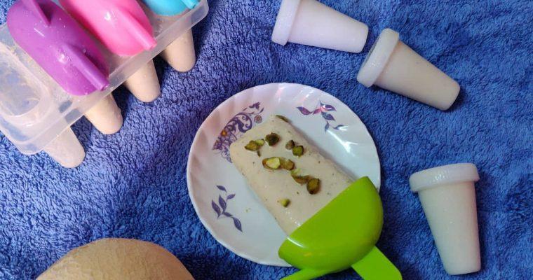 Musk Melon Kulfi Recipe | Cantaloupe Kulfi Recipe | Kirni Pazham Kulfi Recipe