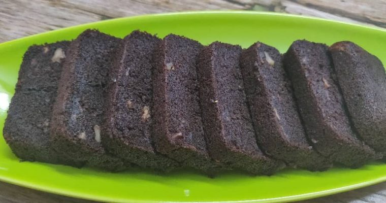 Ragi Banana chocolate Cake Recipe | Eggless Finger millet chocolate cake