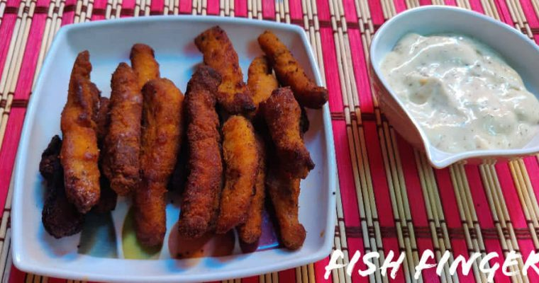 Fish fingers Recipe | Crispy Fish Fingers | How to make Fish Fingers in Home