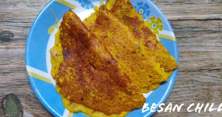 Besan Chilla Recipe | Besan Cheela | Instant Besan Dosa Recipe