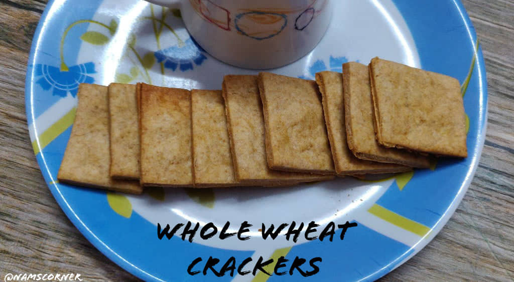 Whole Wheat Crackers | Wheat Crackers recipe