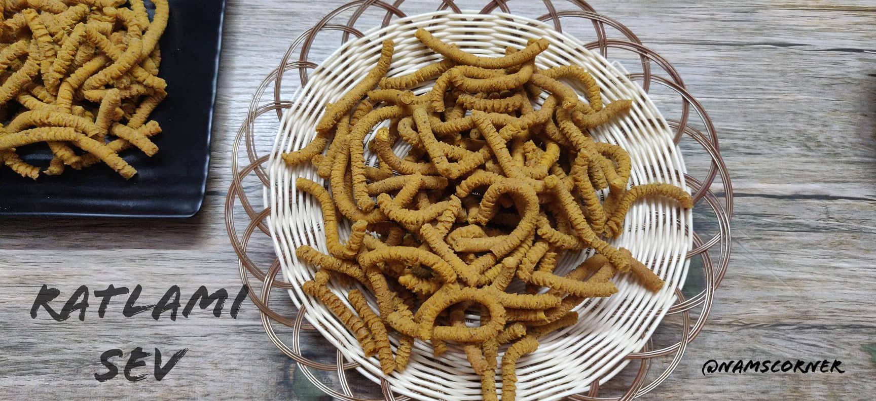 Ratlami Sev Recipe   How to make Ratlami Sev