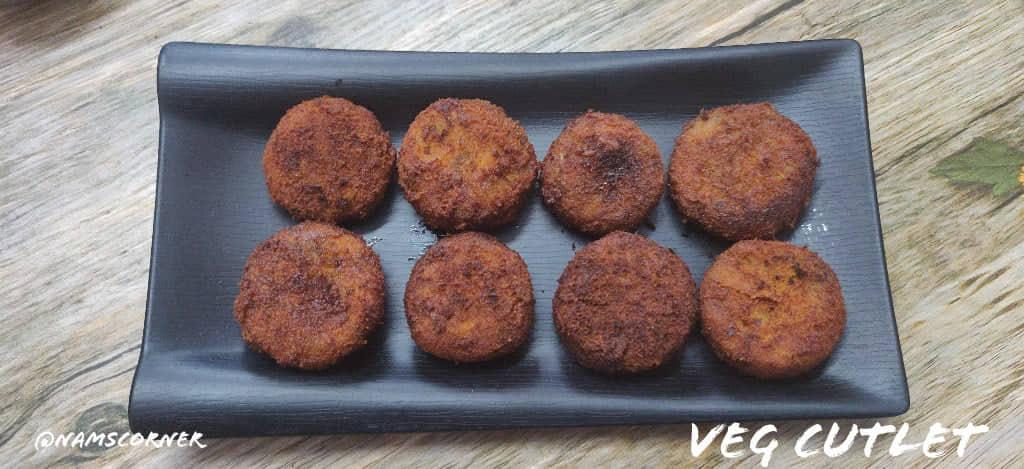 Vegetable Cutlet Recipe | Veg Cutlet Recipe
