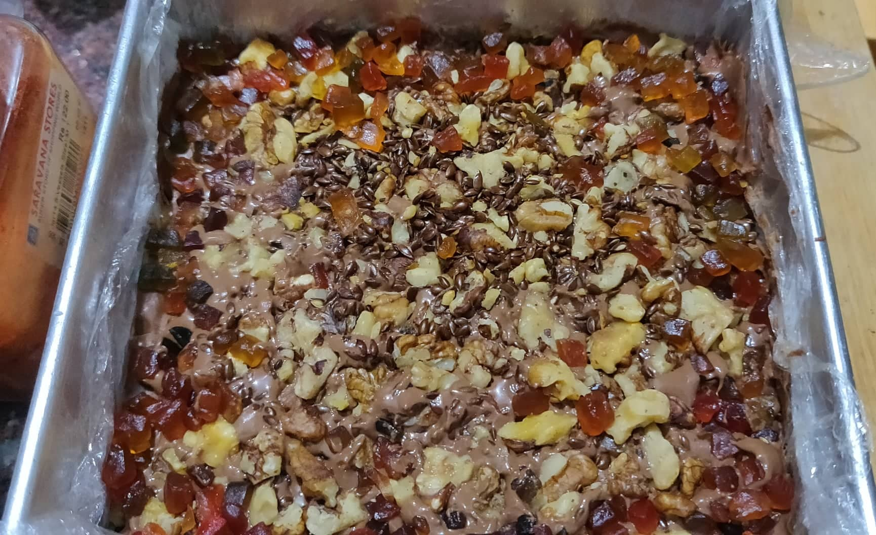 Biscuit_nuts_cake_topping
