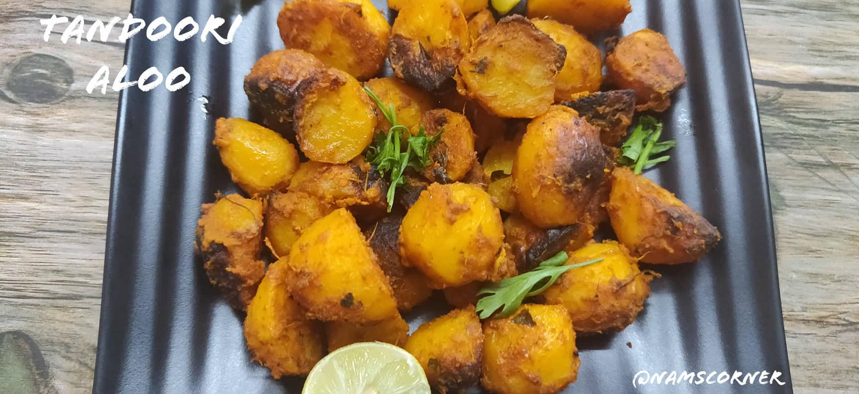 Tandoori Aloo Recipe | Aloo Tikka Recipe | How to make Tandoori Potatoes