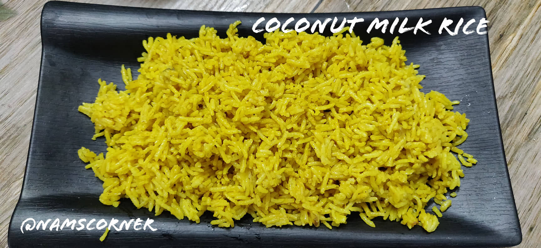 Coconut Milk Rice Recipe | Thengai Paal Sadam | Srilankan Yellow rice