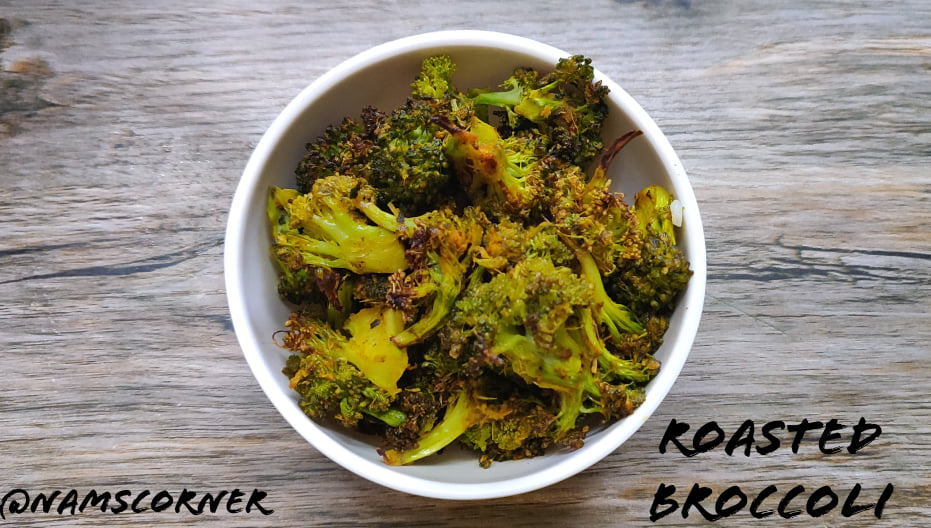 Roasted Broccoli Recipe | Baked Broccoli