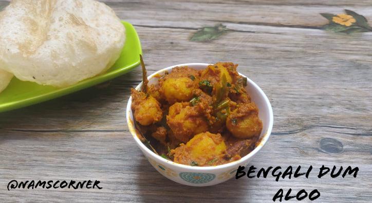 Bengali Dum Aloo Recipe | Alur Dom Recipe