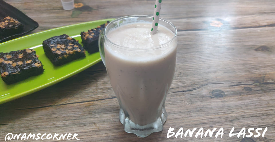 Banana Lassi Recipe | How to make Banana Lassi