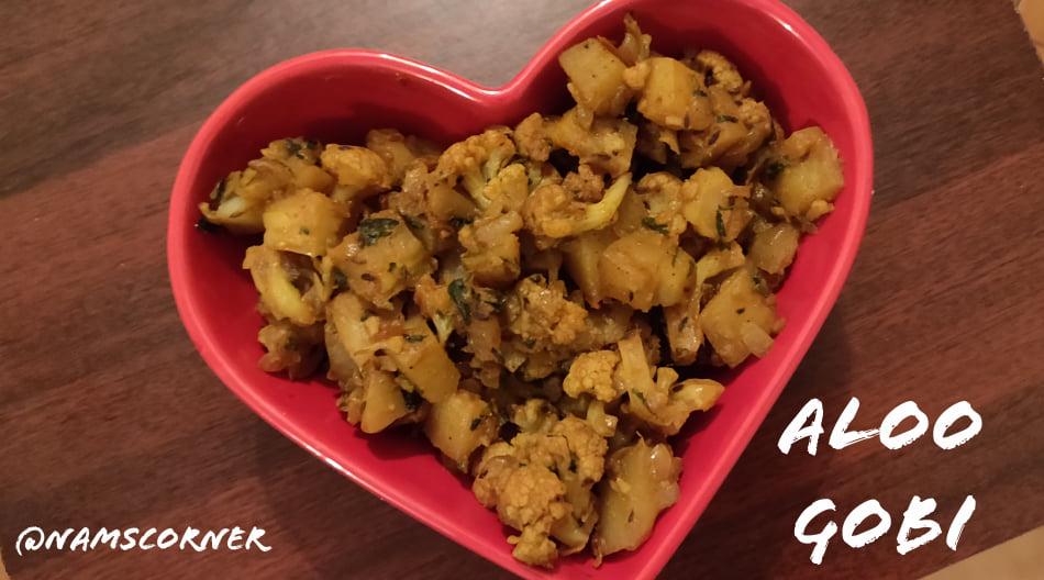 Aloo Gobi Recipe | Potato cauliflower sabzi | How to make Aloo Gobi Recipe