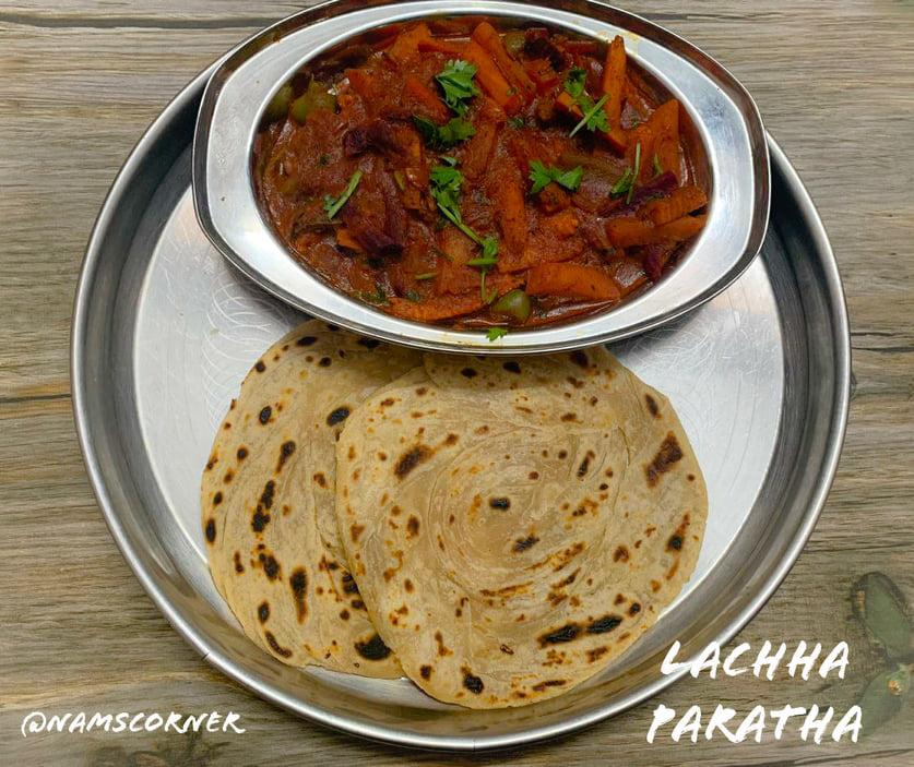 Lachha Paratha Recipe | How to make Lachha Paratha