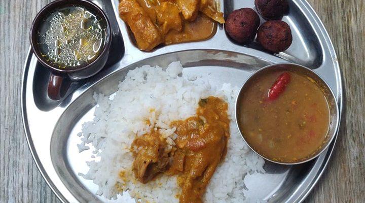 Non Veg Lunch Menu 1 | Chicken Lunch Menu