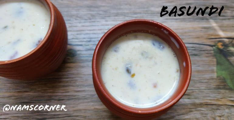 Basundi Recipe | How to make Basundi