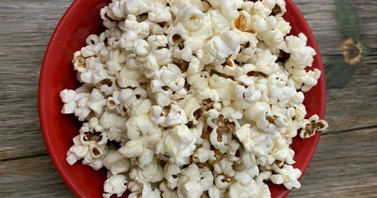 Butter Popcorn recipe | Homemade Butter Popcorn