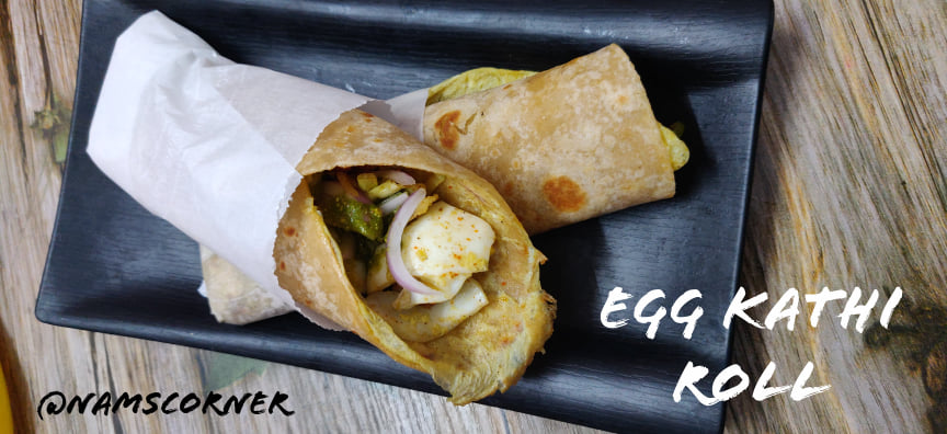 Egg Frankie recipe | Egg kathi roll | Egg wraps Recipe
