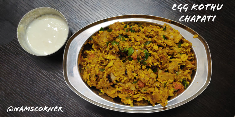Egg Kothu Chapati Recipe | Kothu Chapati | Leftover Chapati recipe