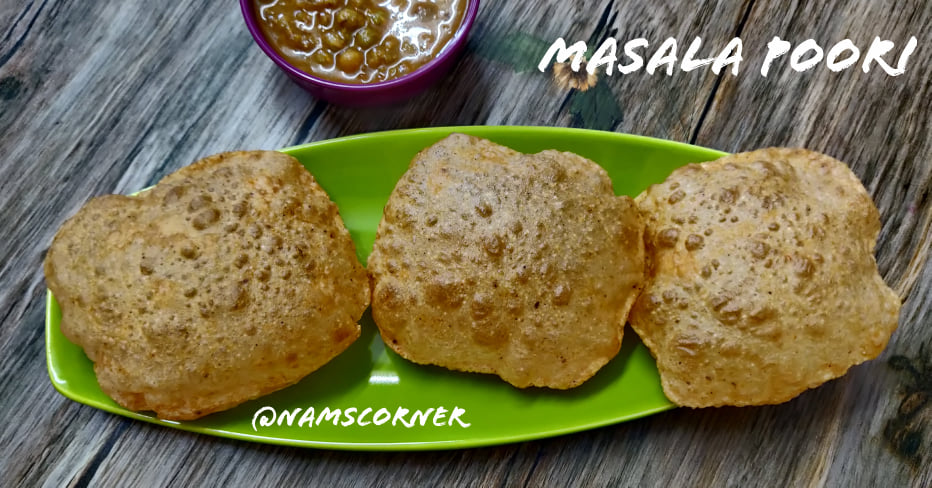 Masala Poori Recipe | Spicy Masala Poori | How to make Masala Poori